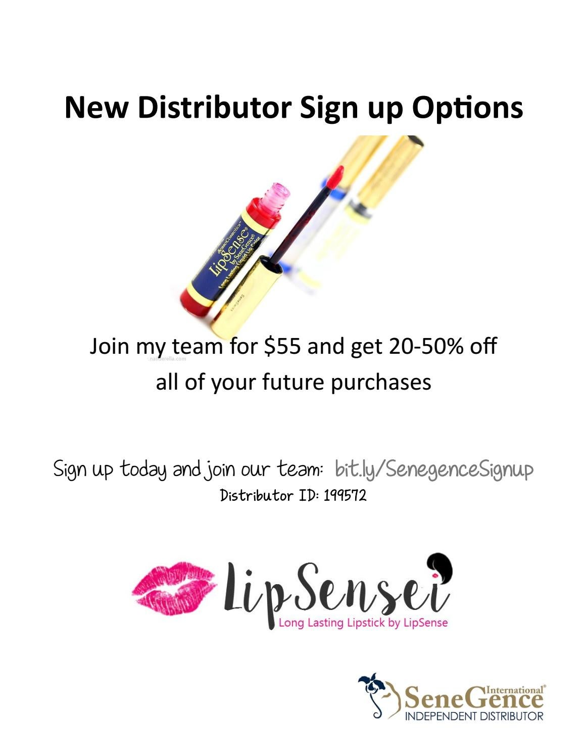 New Option 2015 For Acrylic Nails Style: SeneGence New Distributor Sign Up Options By Issure Chen
