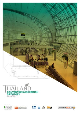 Thailand Convention & Exhibition Directory 2016/2017 by Green World