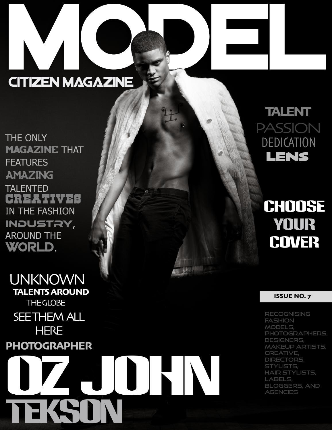 Model Citizen Magazine - cover