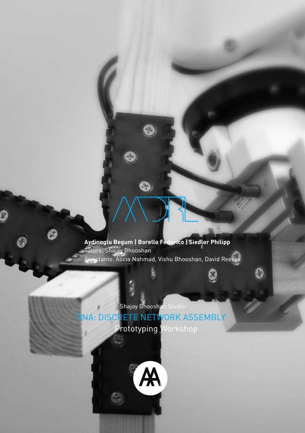 AADRL Prototyping Workshop DNA Phase 2