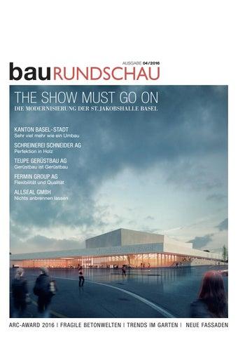 BauRUNDSCHAU 04/2016 By RundschauMEDIEN AG   Issuu