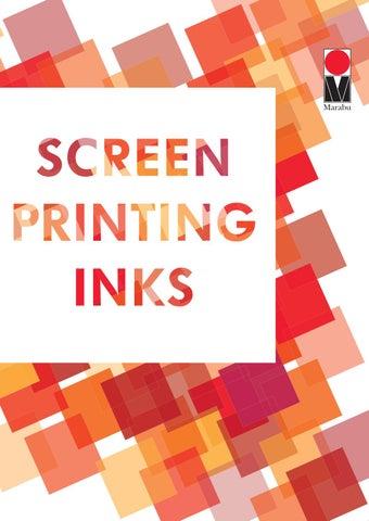 marabu screen printing inks by marabu gmbh co kg issuu. Black Bedroom Furniture Sets. Home Design Ideas