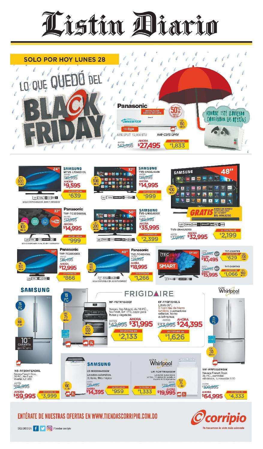 huge discount df7d2 d385e LD 28-11-2016 by Listín Diario - issuu