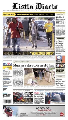 pretty nice 67914 0cea0 LD 29-11-2016 by Listín Diario - issuu