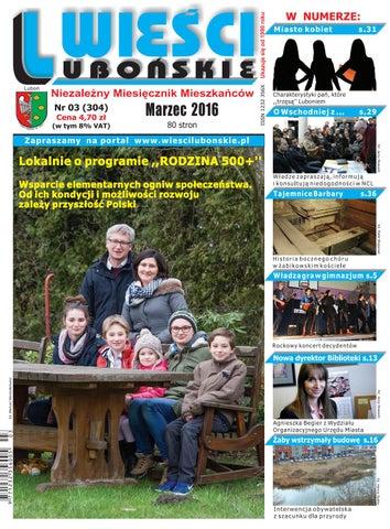 f2b9a7a6d1aad Wieści Lubońskie 2016/03 by WiesciLubonskie - issuu