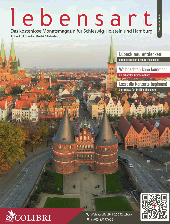 Lebensart im Norden, Lübeck & Umgebung, Dezember 2016 by ...