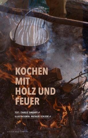Kochen mit Holz und Feuer / sisterMAG