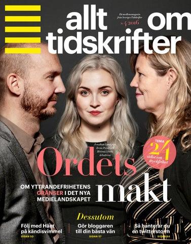 Tryckfrihetsexperter ny eu lag hotar svensk tryckfrihet