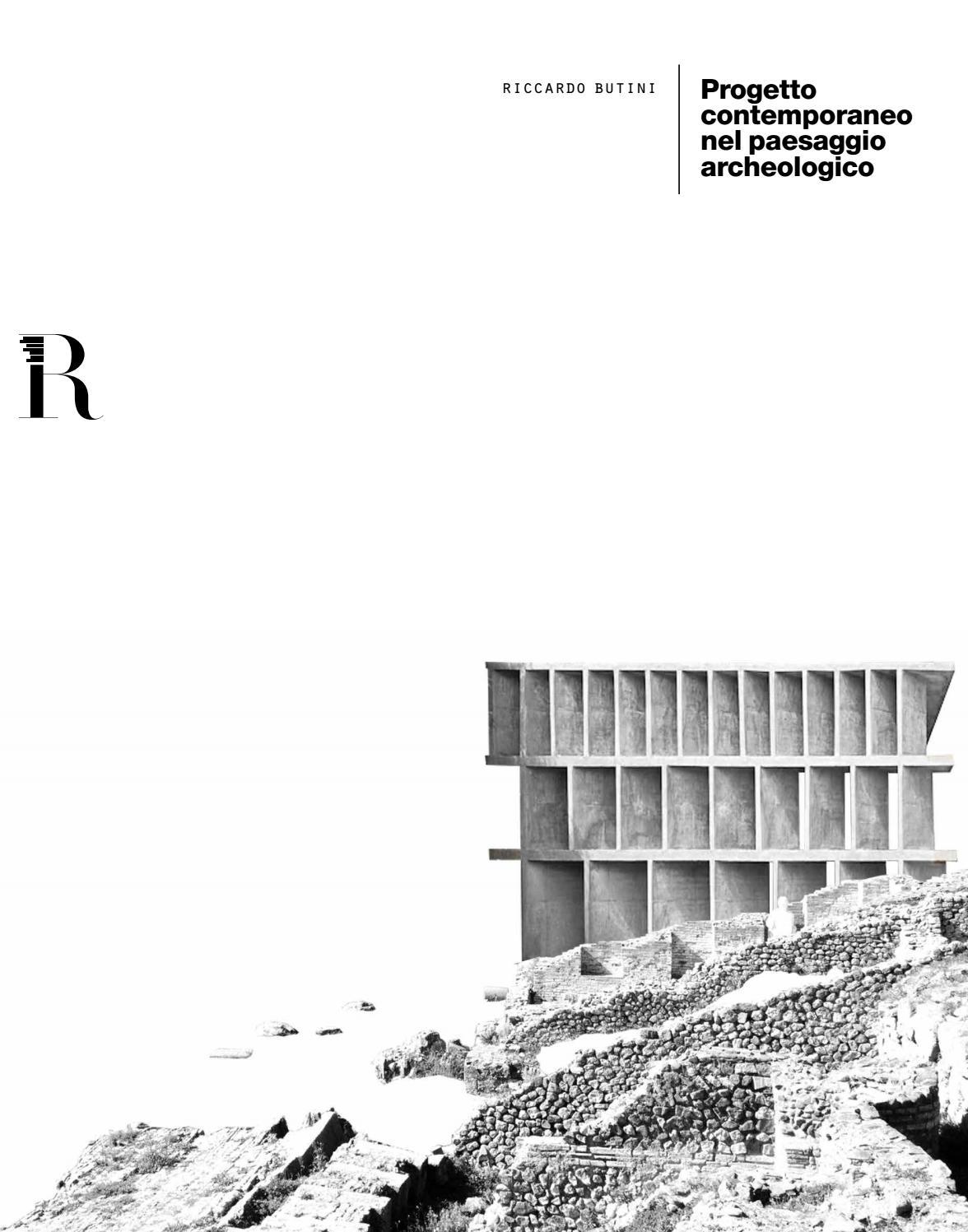 Architetti Famosi Antichi progetto contemporaneo nel paesaggio archeologico | butini