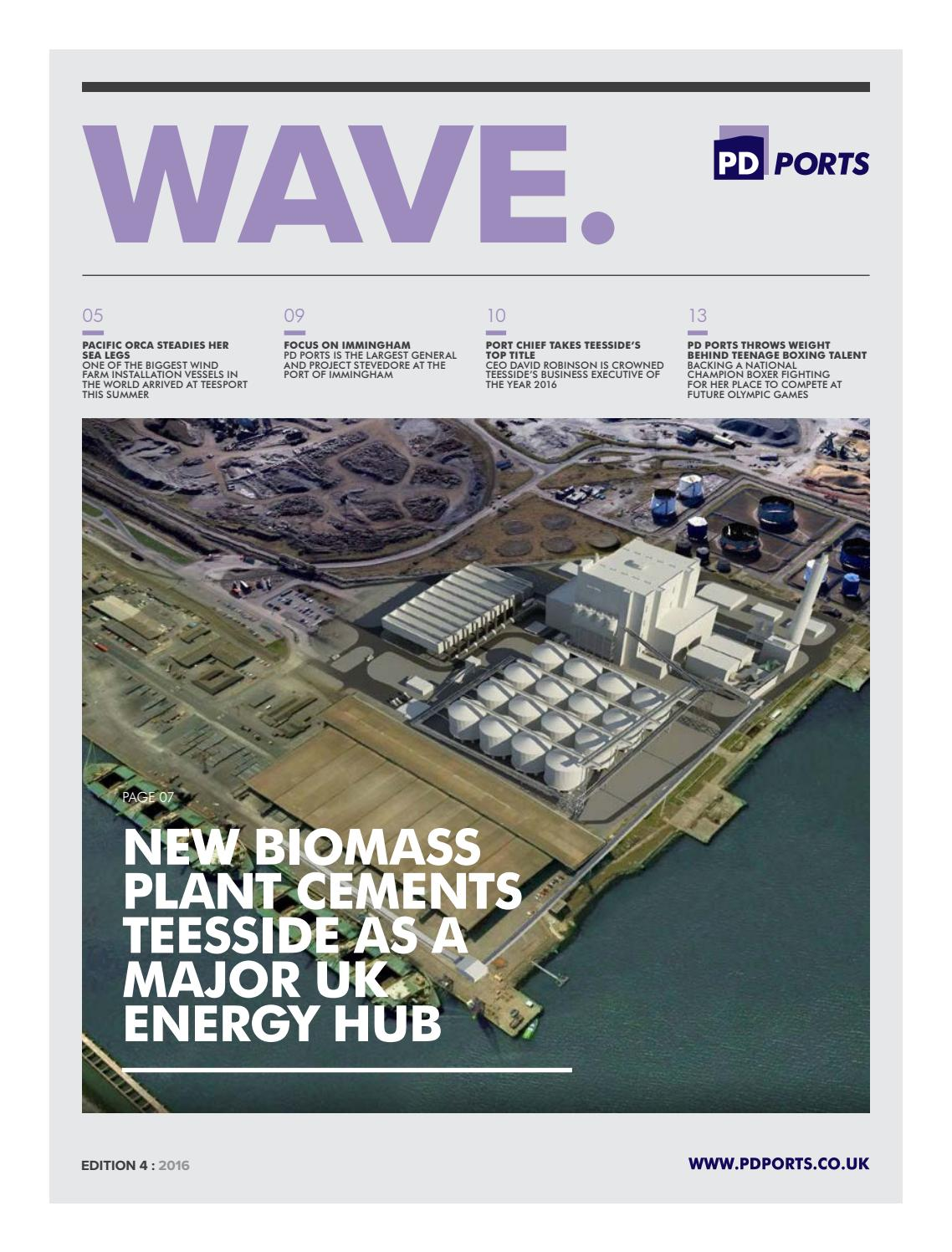 Wave Edition 4 2016 - PD Ports