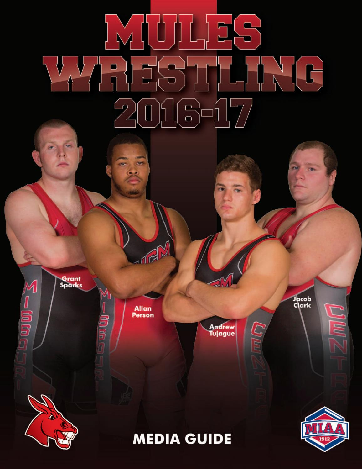 2016-17 Central Missouri Mules Wrestling Media Guide by UCM