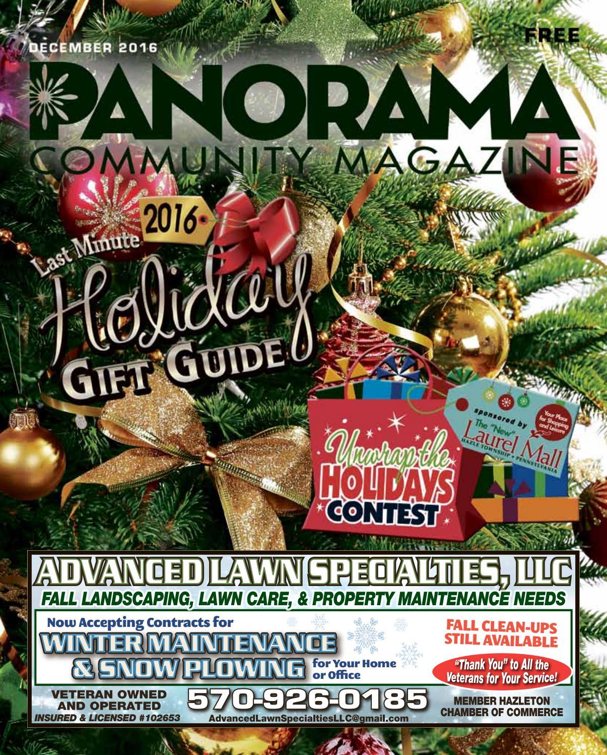 Panorama Community Magazine December 2016 by Panorama