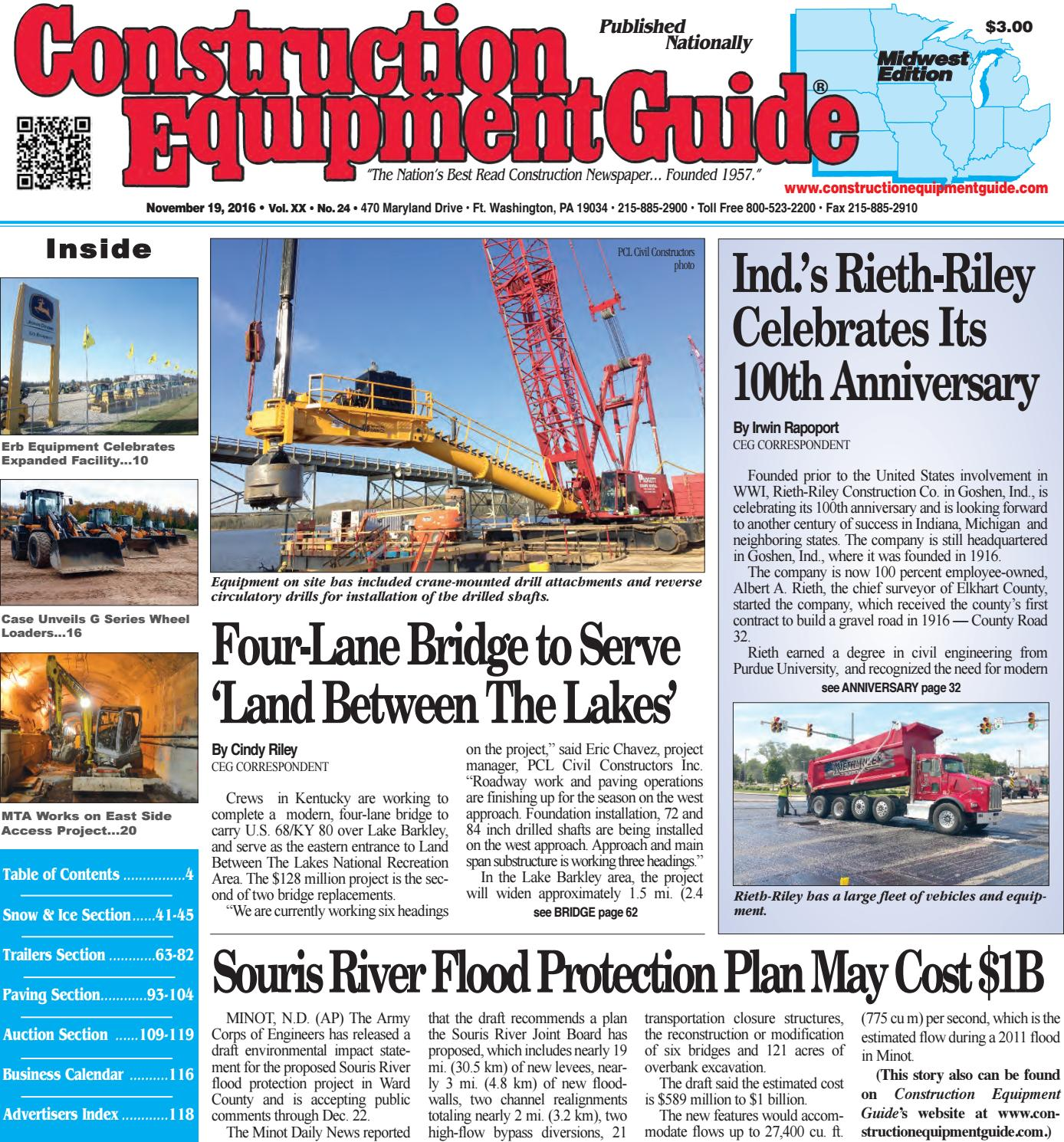 Midwest 24 November 19 2016 By Construction Equipment Guide