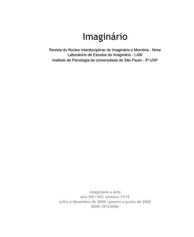 Imaginrio e arte ano xiii xiv nmero 1718 by rob issuu page 1 fandeluxe Image collections