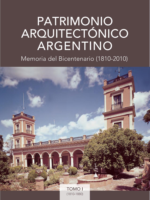 Patrimonio arquitect nico argentino memoria del for Revistas del espectaculo argentino