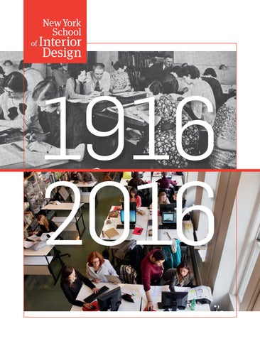 100 Years Of New York School Interior Design 1916 2016 By