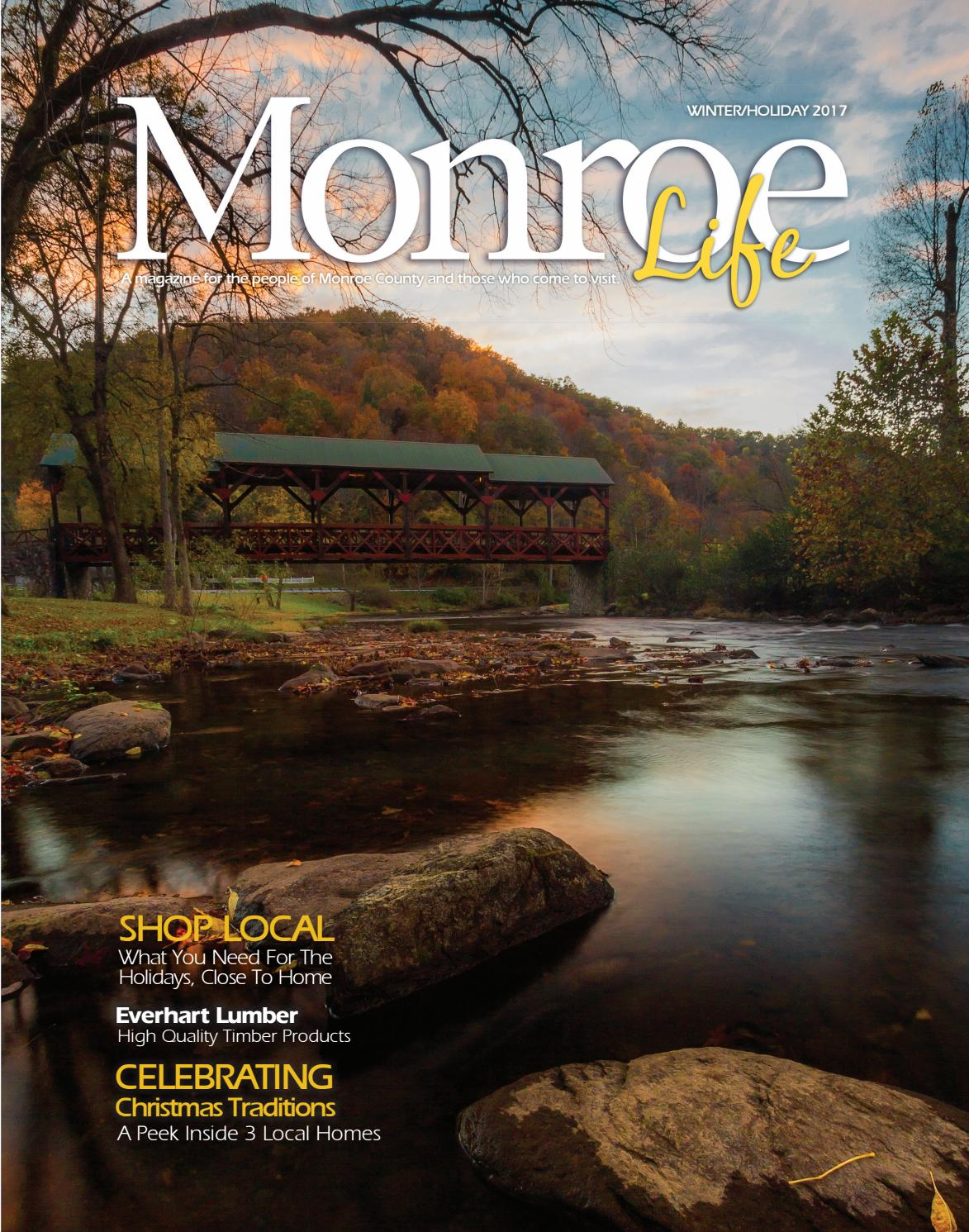 Monroe Life Winter Holiday 2017 By Bingham Group Issuu