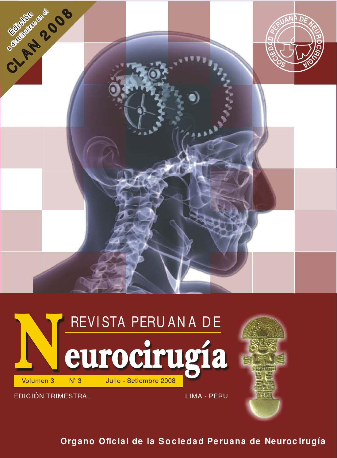 Revista Peruana de Neurocirugia julio setiembre 2008 by Revista ...