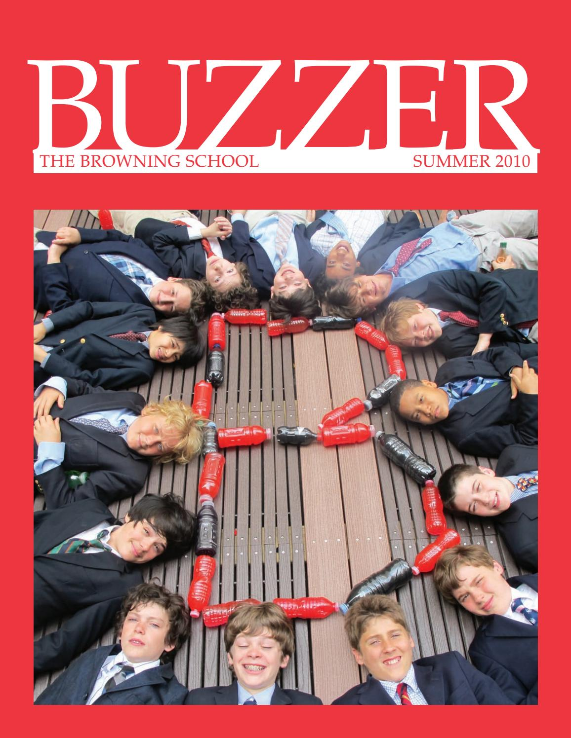 11655ee670113 Buzzer Summer 2010 by The Browning School - issuu