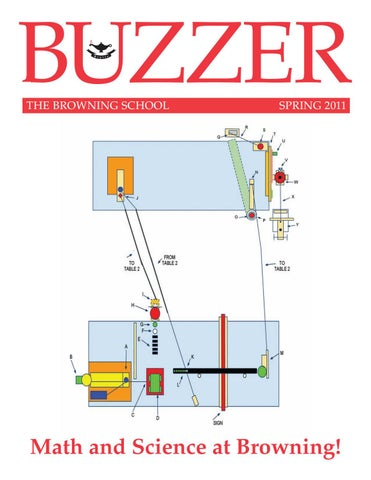 Buzzer Spring 2011 by The Browning School - issuu