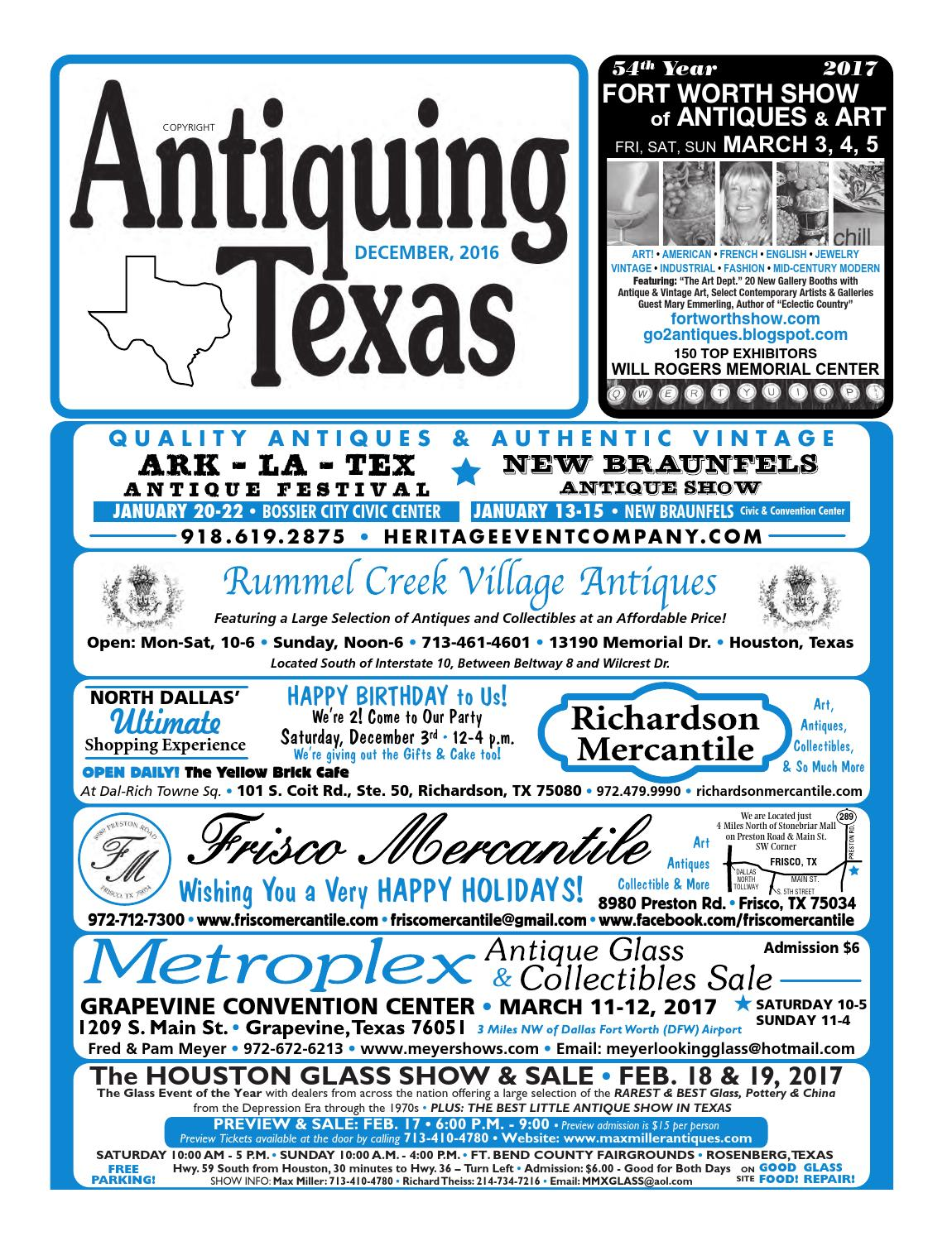 Ant tx upload 12 16 by Antiquing Texas - issuu