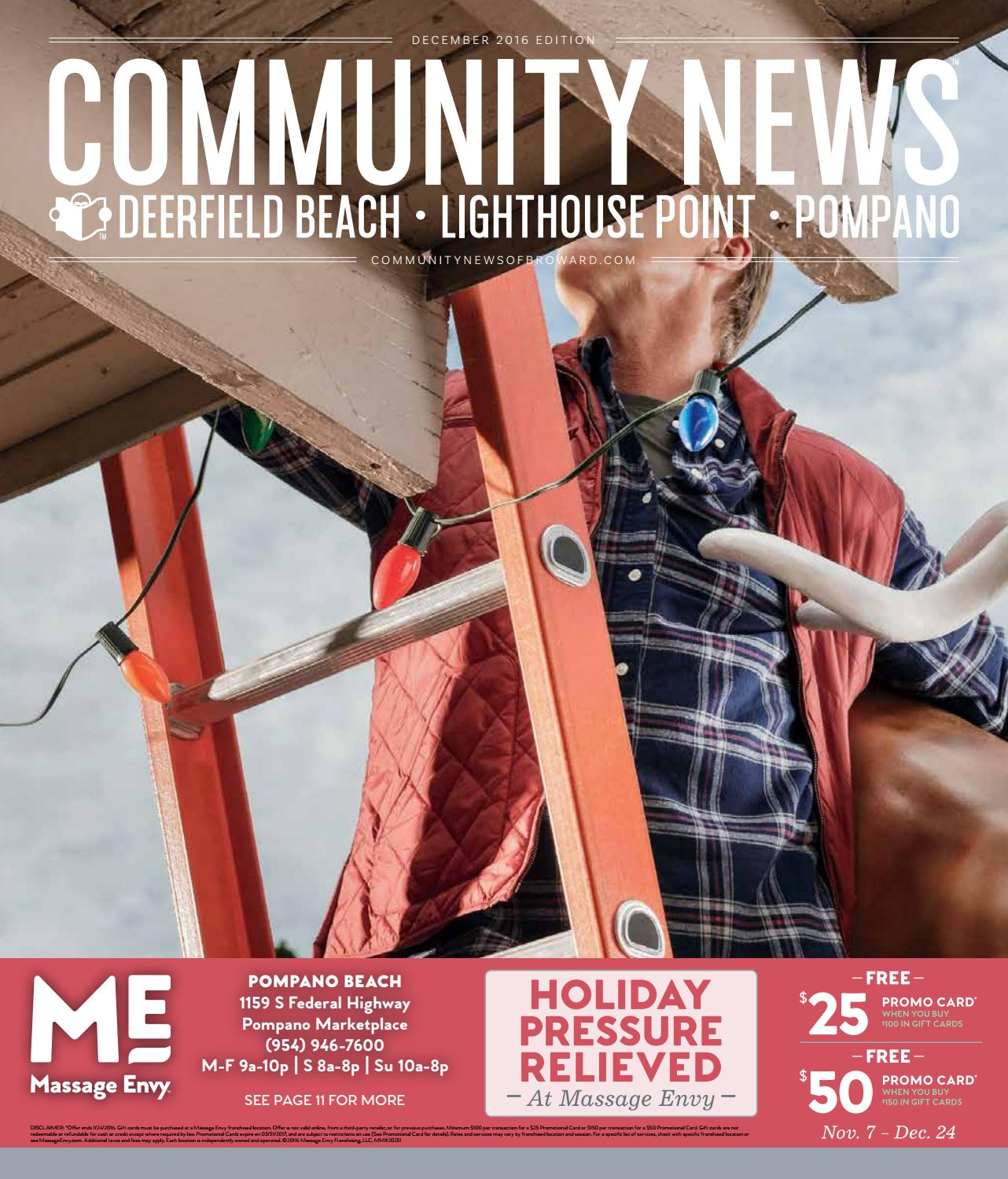 december 2016 edition of community news of broward by city news
