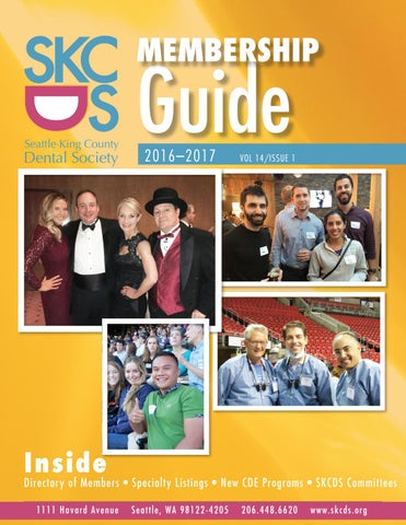 Seattle King County Dental Society Membership Guide 2016