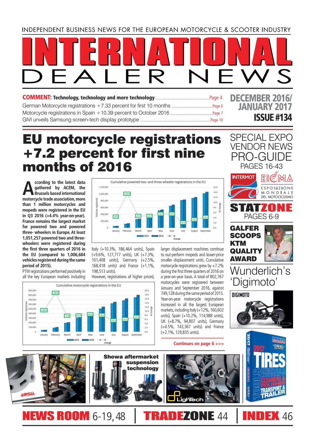 IDN 134 December 2016 / January 2017 by Dealer-World - issuu