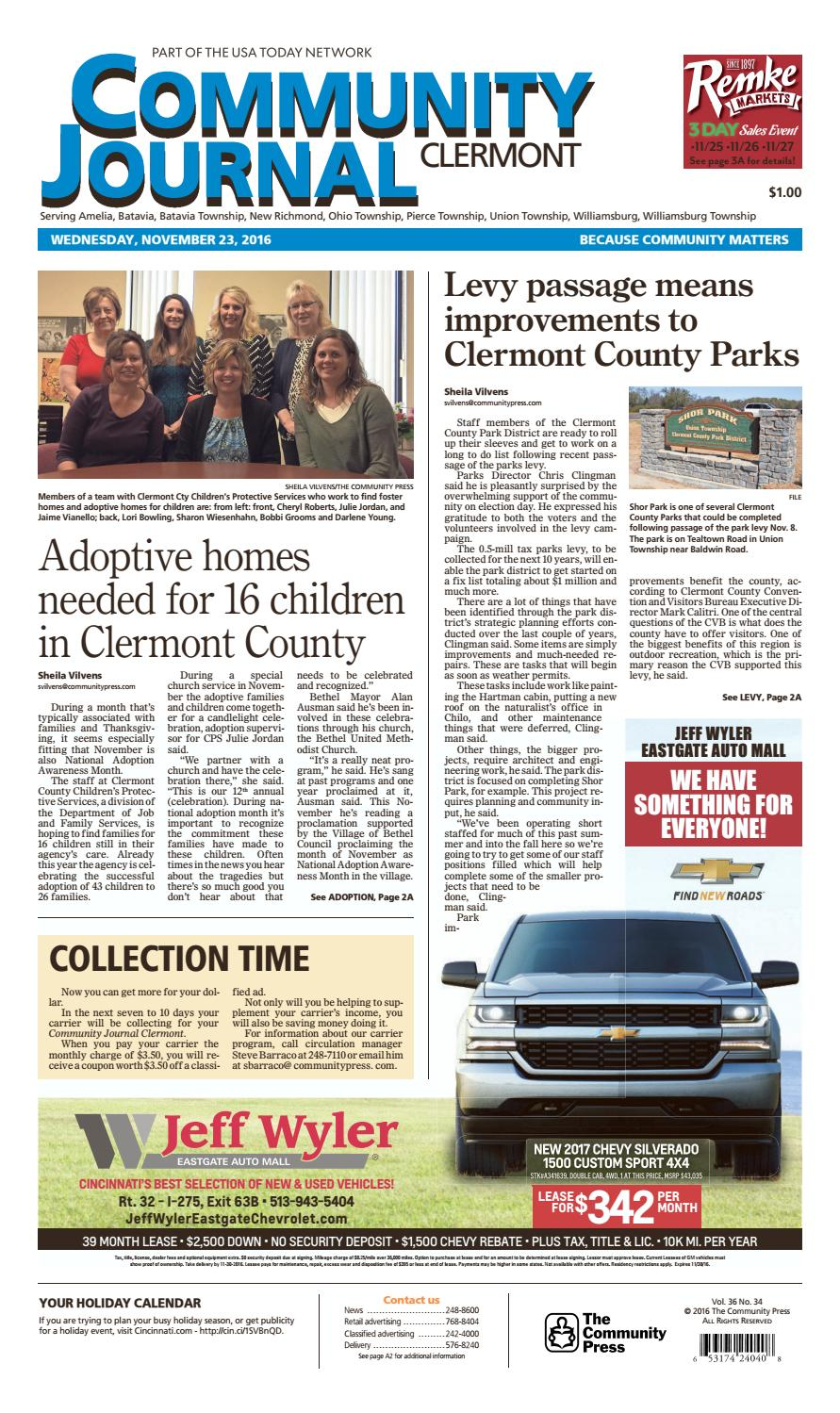 Community journal clermont 112316 by Enquirer Media - issuu