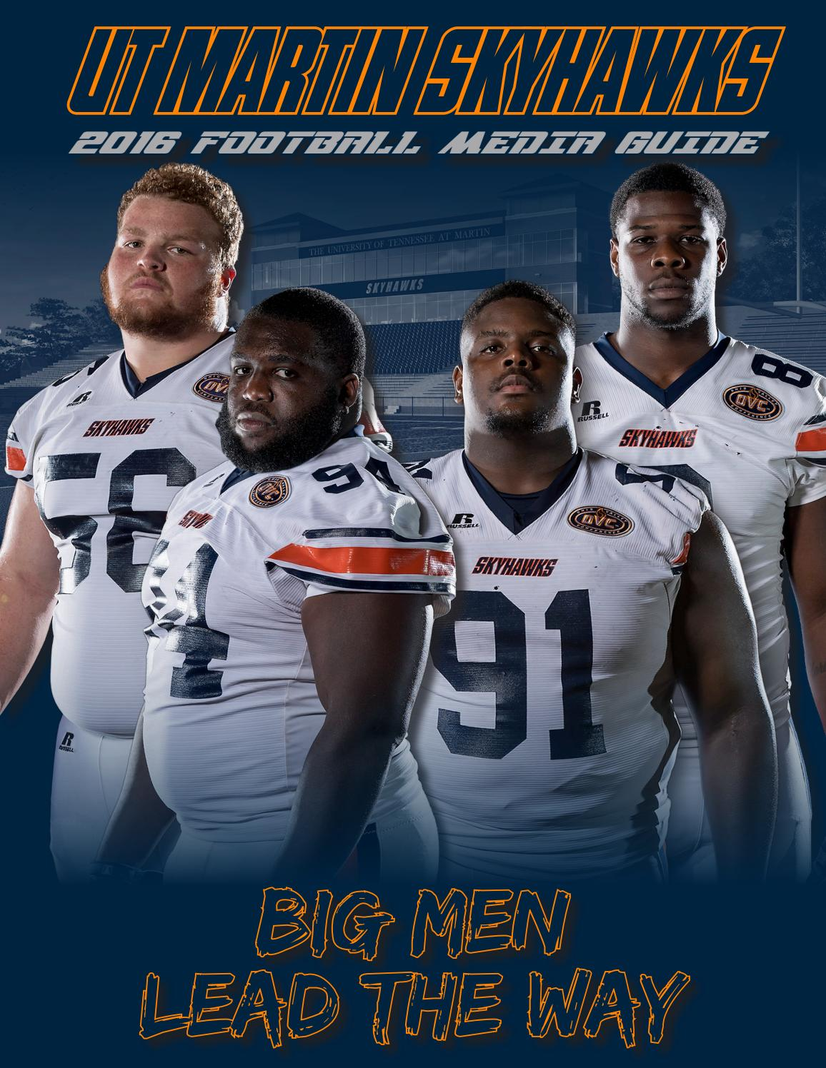 2016 UT Martin Football Media Guide by UT Martin Skyhawk Athletics - issuu