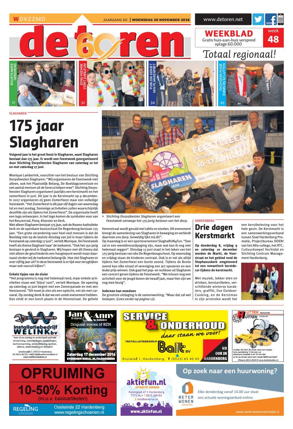3d5546c725e De Toren - Week 48 2016 by Weekblad De Toren - issuu