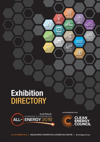 All-Energy 2016 Directory by Reed Exhibitions AU - issuu