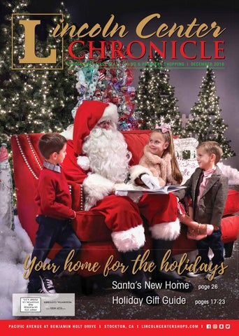 34408cd3535 STOCKTON'S FIRST CLASS DINING & PREMIERE SHOPPING | DECEMBER 2016