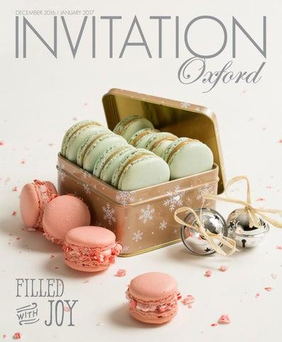 Invitation Oxford December 2016 By Invitation Magazines