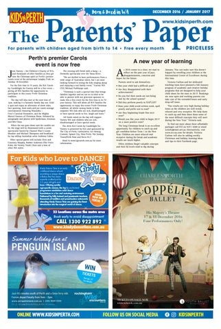 Kipdj1617 by Kids in Perth - The Parents' Paper - issuu