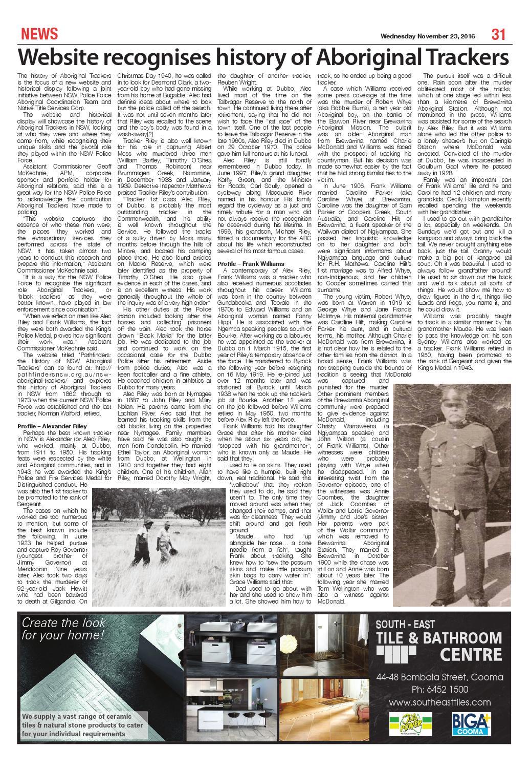 The Monaro Post November 23, 2016 by Monaro Post - issuu
