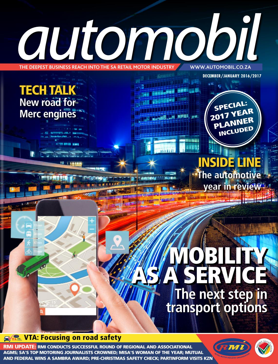 Automobil December 2016/January 2017 by Future Publishing