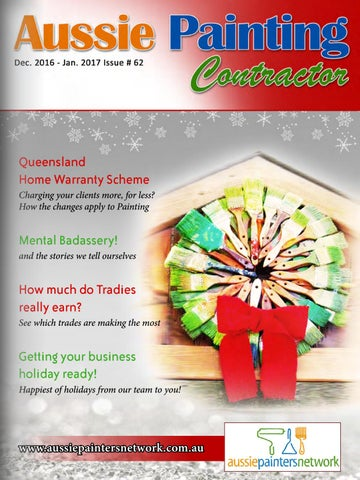 Aussie Painting Contractor December 2016 January 2017 by