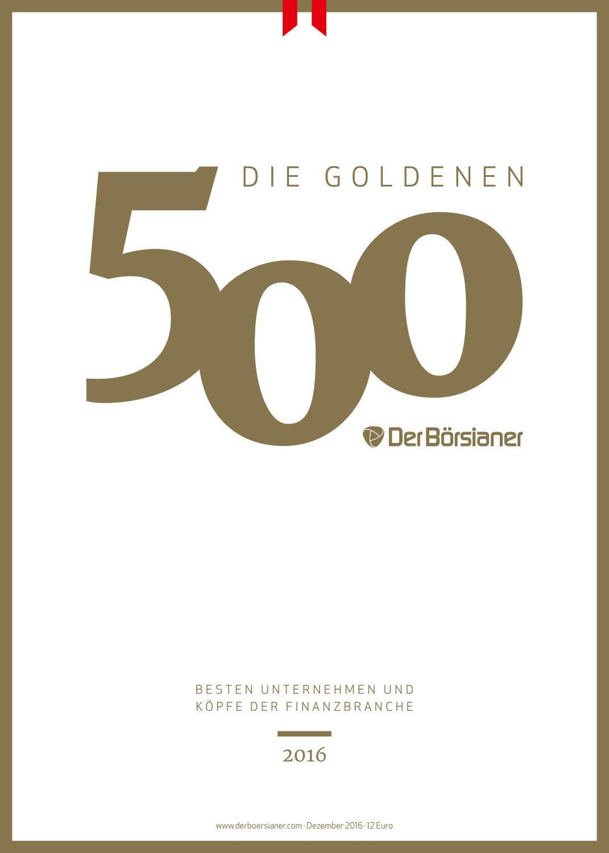 DerBörsianer 17. Ausgabe, Edition gold by Michael Berl - issuu