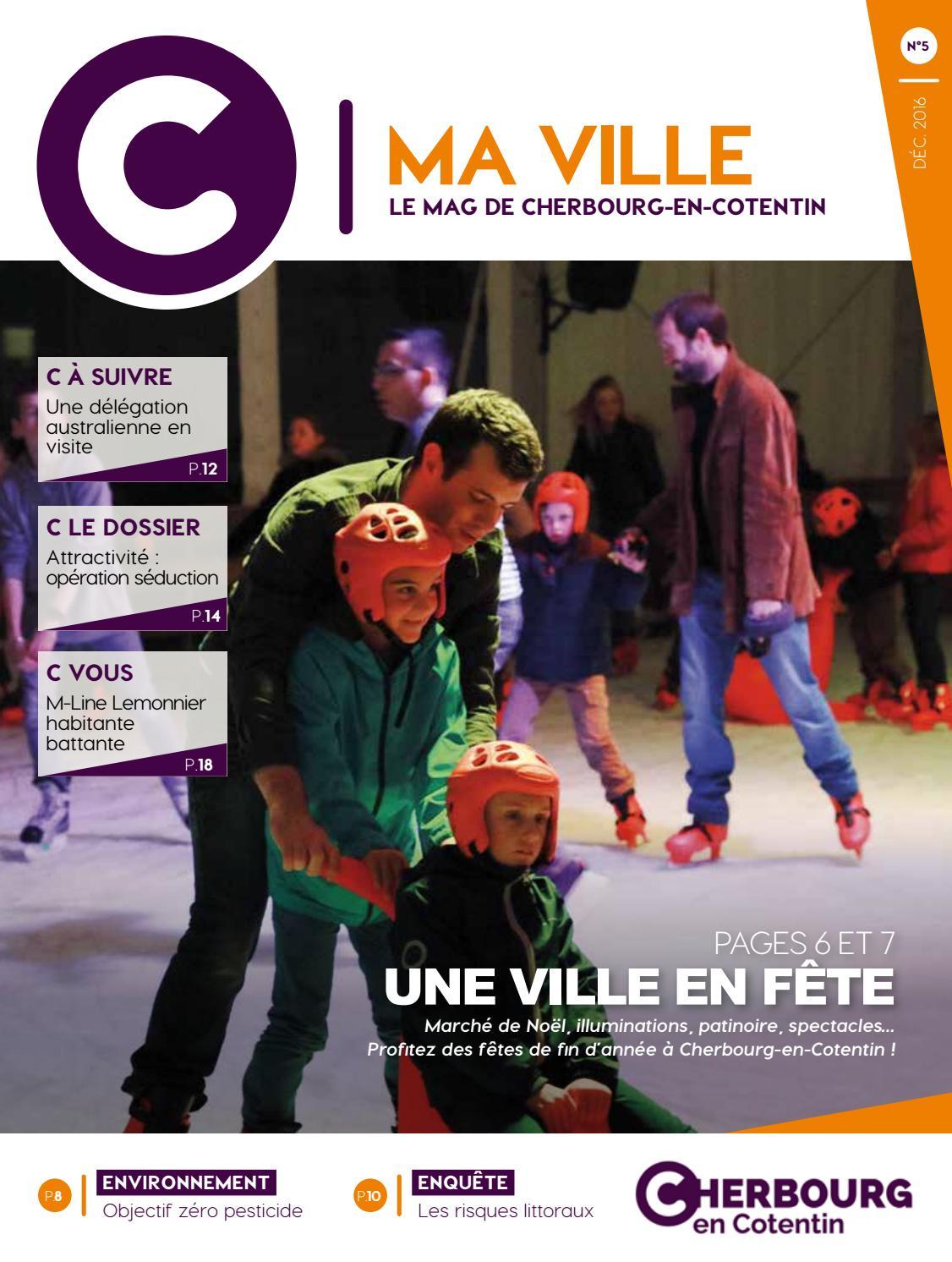 C Ma Ville N5 Dec2016 Edition Complete Web By Service Communication De Cherbourg