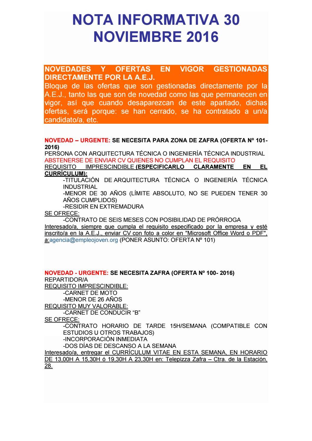Nota informativa 30 noviembre 2016 by Segura Al Día - issuu