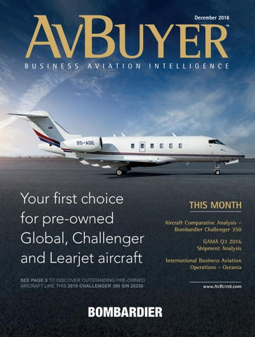 AvBuyer Magazine December 2016 by AvBuyer Ltd  - issuu
