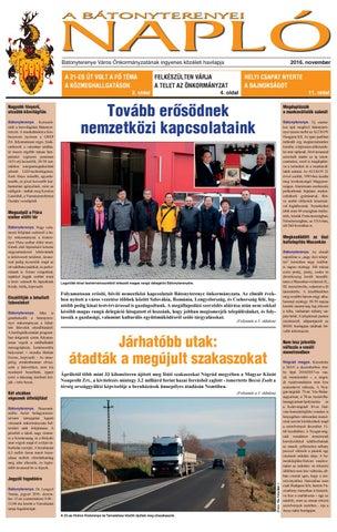 edbbe5e22769 A Bátonyterenyei Napló (2016.november) by A Bátonyterenyei Napló - issuu