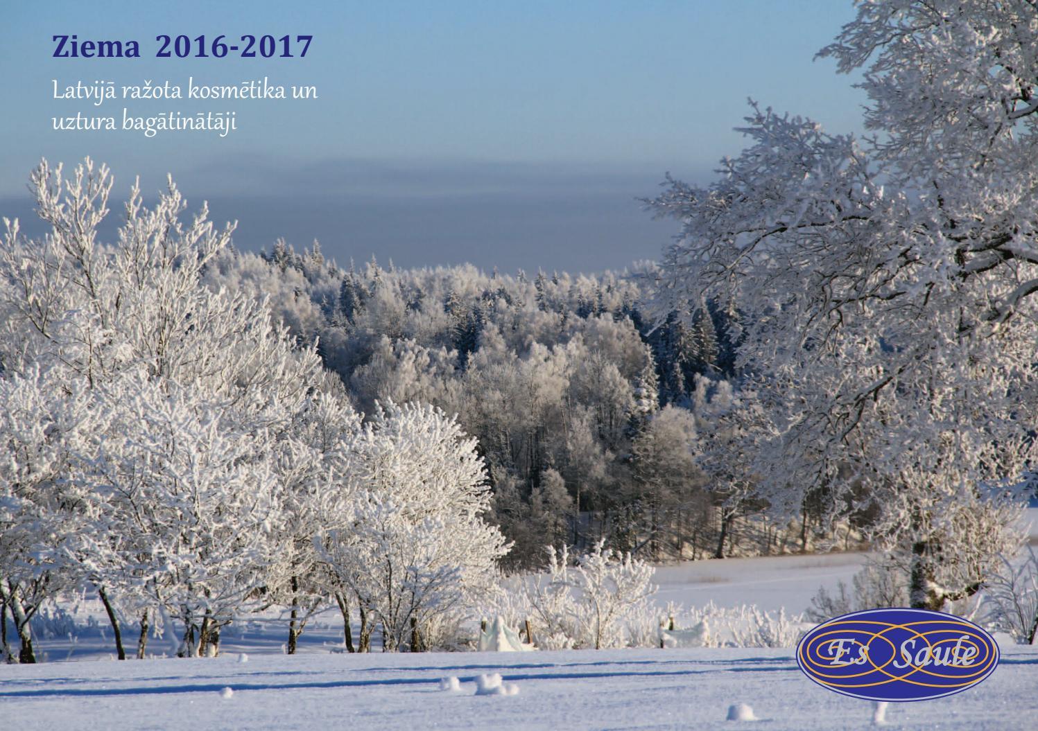EsSaule katalogs «Ziema 2016–2017», Каталог «Зима 2016–2017 ...