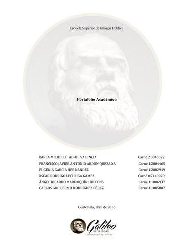 Proyectos De Imagen Publica De Maestria By Universidad Galileo Issuu