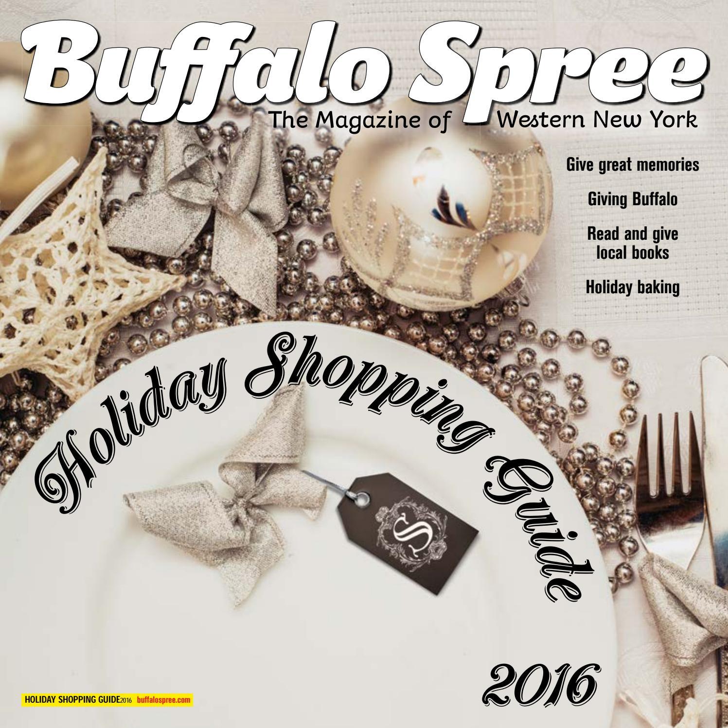 5b3947baf56 Buffalo spree's Holiday Shopping Guide 2016 by Buffalo Spree - issuu