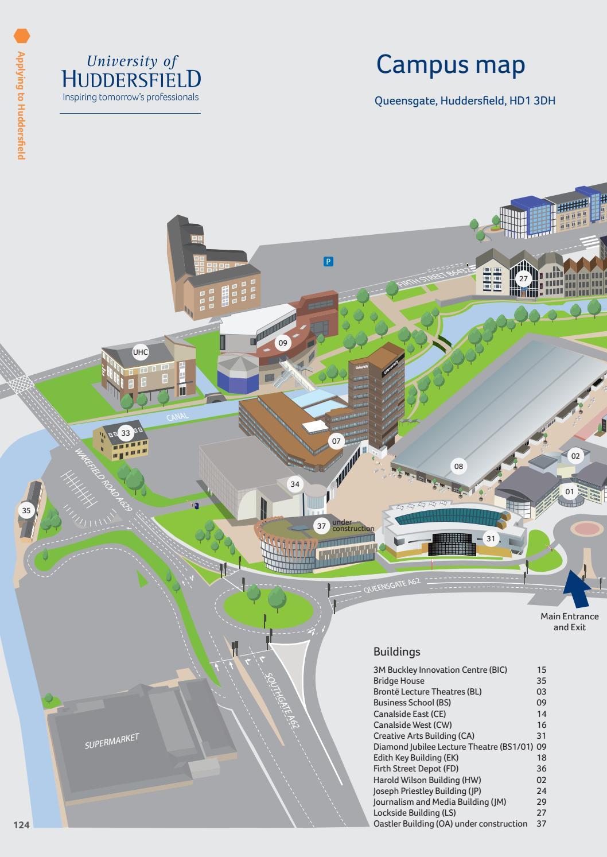 University Of Huddersfield 2017 18 International Prospectus By