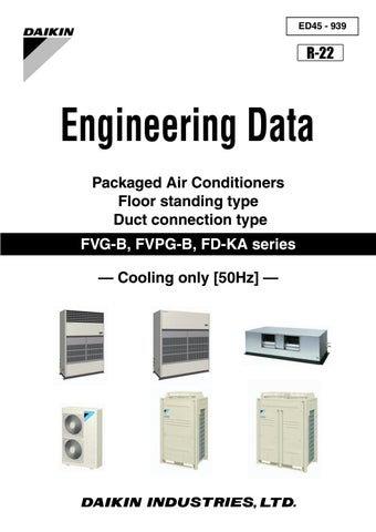 Daikin engineering data book pdf