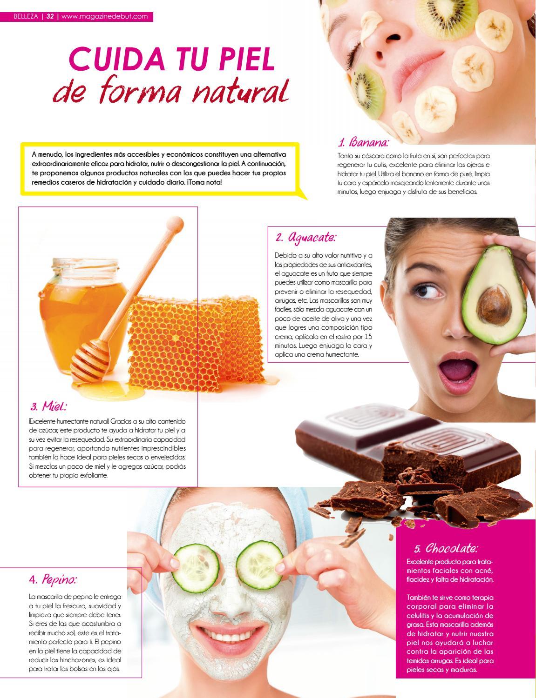 como hidratar la piel forma natural