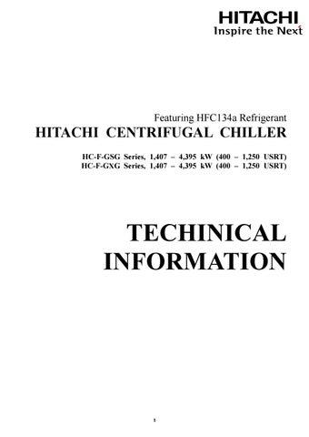 chiller starter wiring diagram hitachi centrifugal chiller gsg gxg by education vietmastec issuu  hitachi centrifugal chiller gsg gxg by